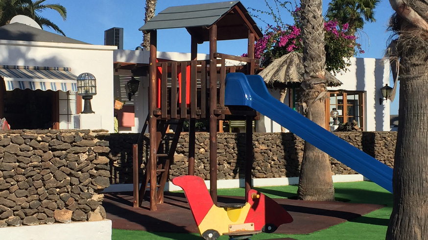 There's plenty for the kids to do in the playground in Las Brisas.